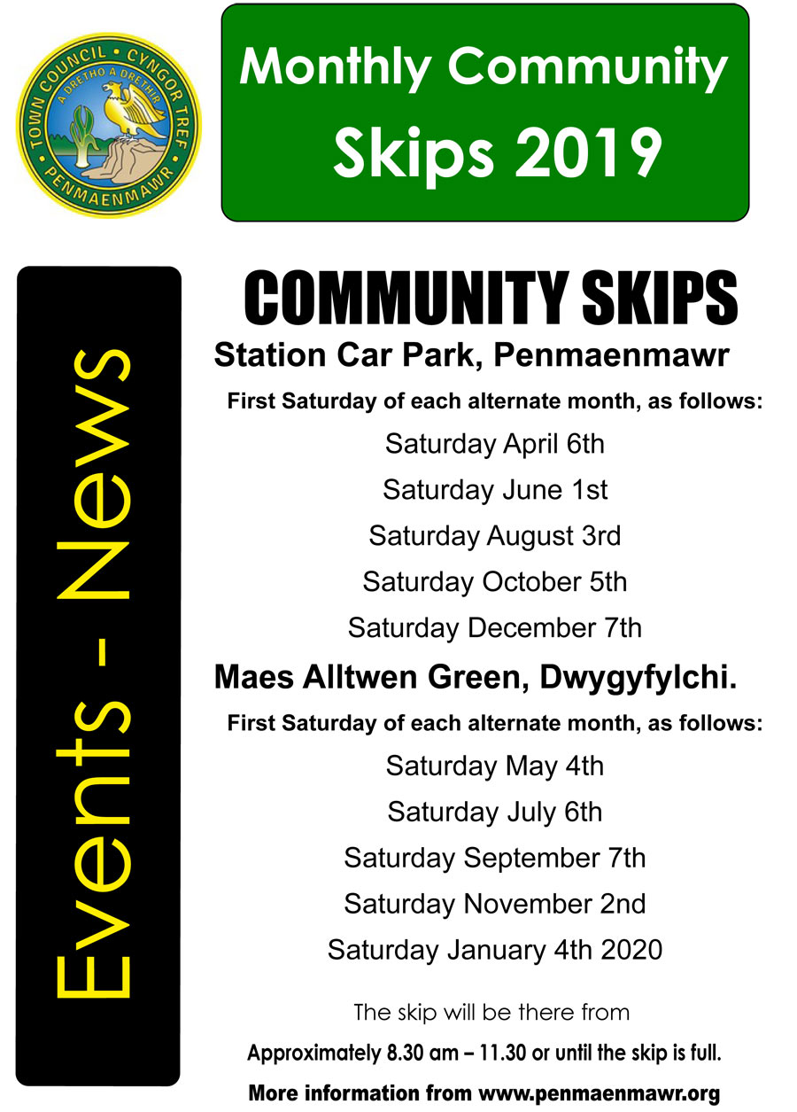 Community Skips for 2019