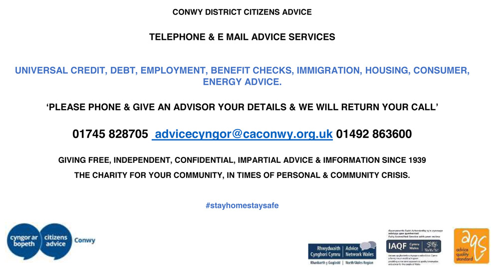 Conwy District Citizens Advice