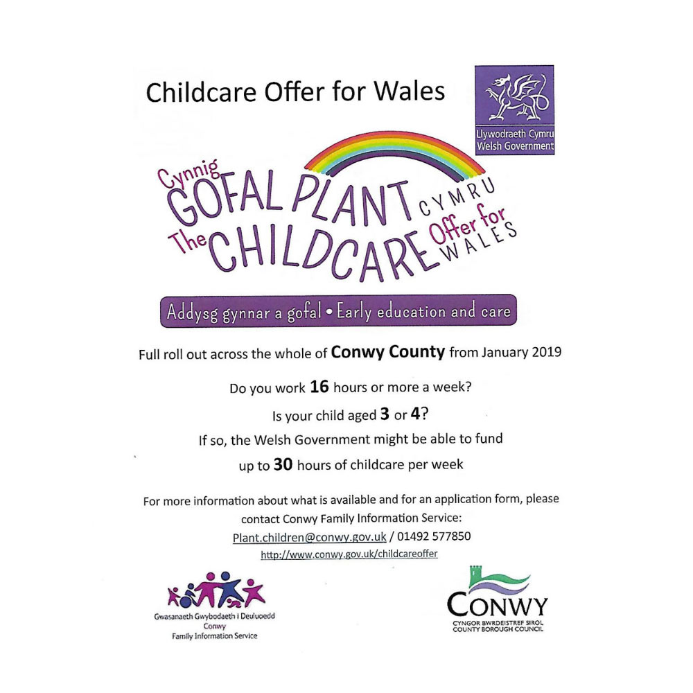 childcare offer for Wales